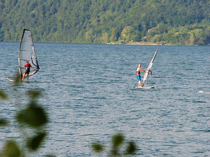 <b>Divertenti sport da praticare sul lago d'Idro</b>