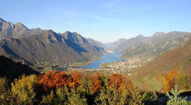 Lago d'Idro in versione autunnale - Gianfranco A.