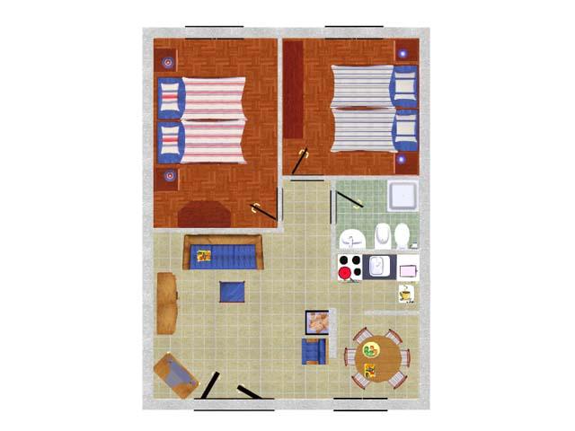 <b>schema appartamento - Elettra Basic</b>